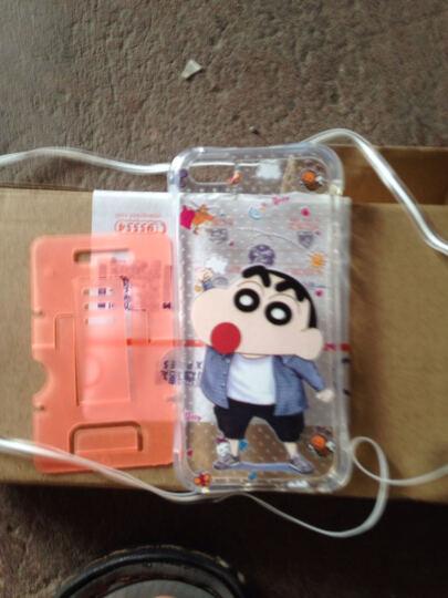 奔信 气囊防摔手机壳透明软硅胶套带挂绳 适用于苹果5S/5代/iPhone SE 17时尚小新 晒单图