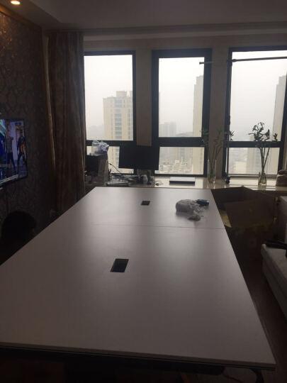 创圣 上海北京简约时尚现代办公桌接待洽谈会议桌会客培训桌椅组合长条桌定制  时尚小型咖啡桌1 W360*D140*H75 晒单图
