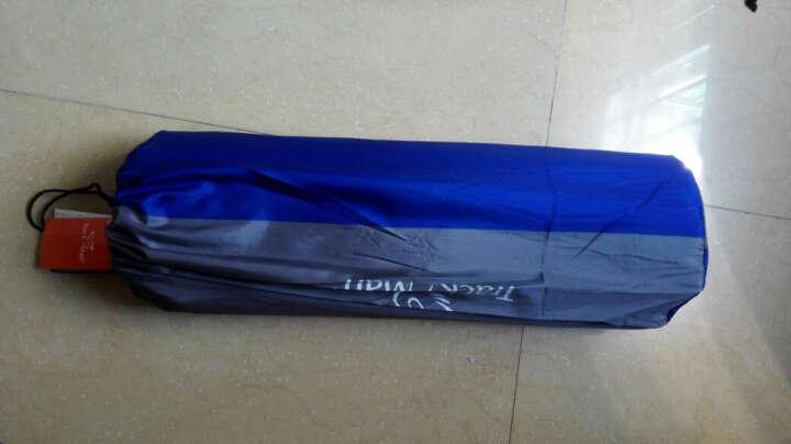 自游人TrackMan  孔雀草防潮垫  帐篷充气垫 气垫床帐篷垫子充气床隔潮垫 厚款 苍茫灰 190*132*3CM 晒单图