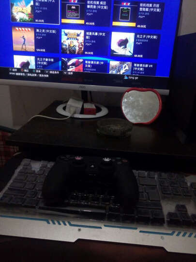 索尼(SONY)PS4 Pro/slim国行电脑娱乐机家用体感电视游戏机4K高清支持VR PS4 PRO送怪物猎人世界 +原装手柄 2TB 晒单图