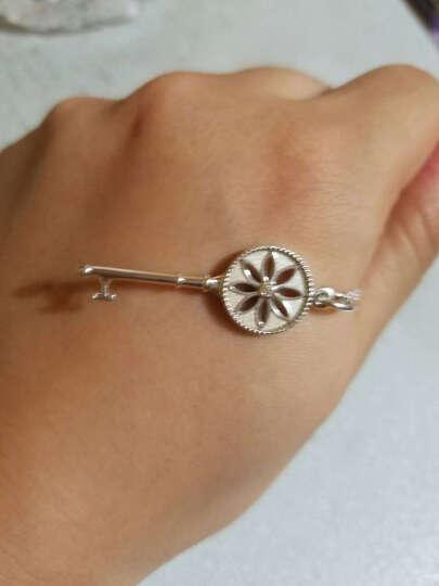 蒂芙尼(Tiffany & Co.)蒂凡尼银镶钻雏菊钥匙吊坠项链 26887712  情人节礼物 钥匙长3.8cm 国内现货 晒单图