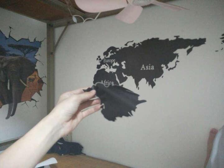 其乐创意个性斑马客厅玄关装饰墙贴纸简约艺术店铺酒吧KTV墙壁墙贴画 F款炫彩小灯泡JM7306(X5-5-2) 晒单图