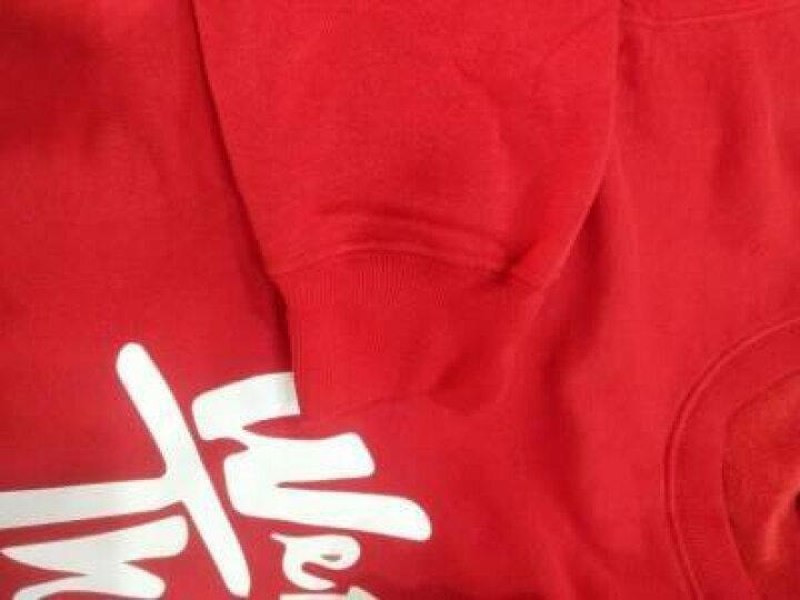 蓝之旺 卫衣定制 圆领情侣卫衣秋冬班服外套定制 卫衣女套头卫衣diy印logo 工作服定做 不倒绒灰色 XL 晒单图