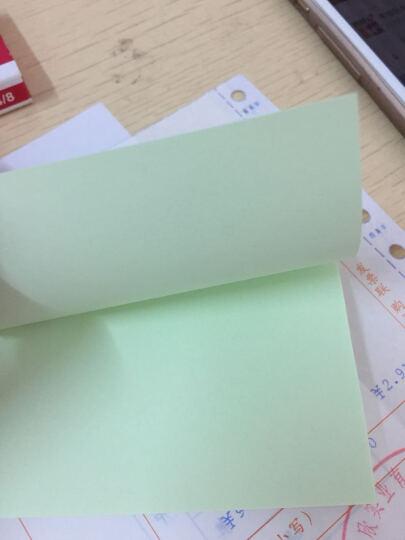 得力(deli)彩色半透镜面超透内页A4资料册/文件册/文件袋-30页 透明 晒单图