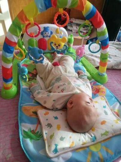 新生婴儿脚踏钢琴健身架宝宝音乐游戏毯早教玩具0-1
