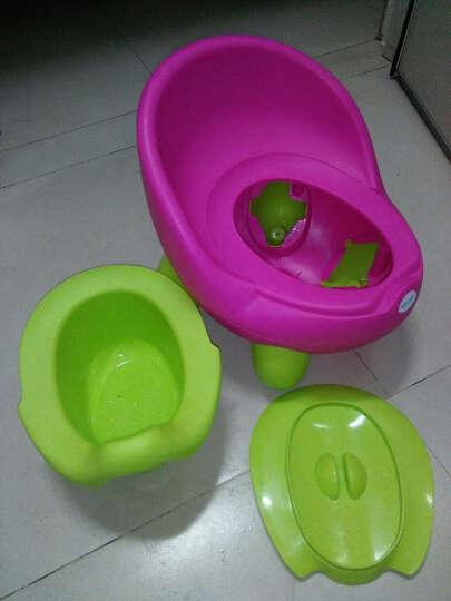 宝贝时代(Babyyuga) 大号儿童坐便器男女宝宝座便器婴儿小孩马桶 婴幼儿坐便器尿盆 绿色+坐凳盖 晒单图