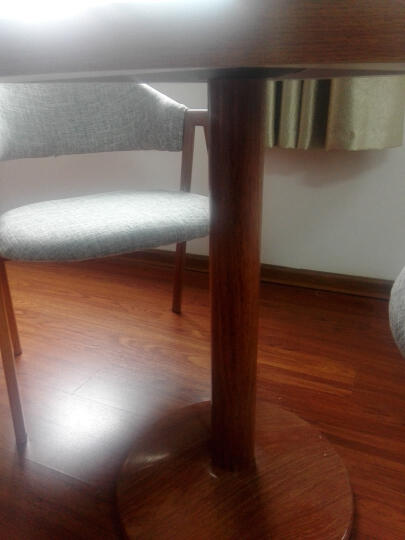 非派 洽谈桌椅组合接待会客休闲桌椅套装北欧简约4S奶茶店售楼处咖啡桌小餐桌办公会客桌椅套装 方桌酒店椅 1桌4椅 晒单图