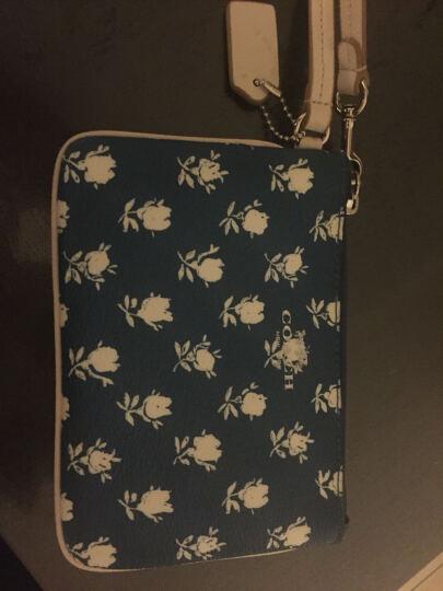 蔻驰 Coach 女式皮质手拿包 腕包 手机包 零钱包 钥匙包 F16109 深棕色 晒单图