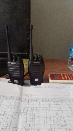 万华(Wanhua) WH36无线对讲机专业商用民用手台 WH36+备用电池 晒单图