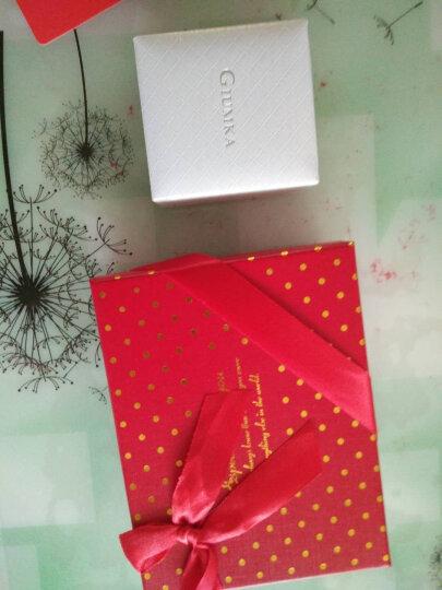 Giumka 新款原创设计 925纯银项链女 跳动的心爱心吊坠锁骨链 礼物 经典 高贵粉【送八好礼】 晒单图