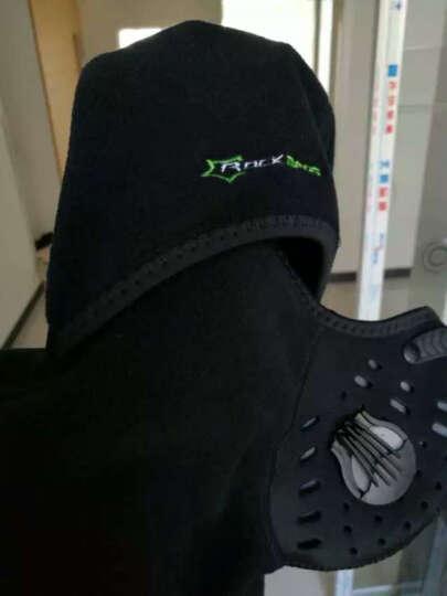 洛克兄弟(ROCKBROS) 摩托车骑行头套电瓶车机车头罩围脖面罩秋冬防风霾抓绒保暖口罩 中尉(加绒 防泼水 带滤芯) 晒单图