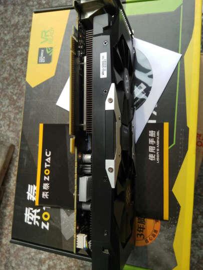 索泰(ZOTAC)Geforce GTX1060-3GD5 X-GAMING OC 1569-1784MHz/8008MHz 3G/192bit GDDR5 PCI-E显卡 晒单图