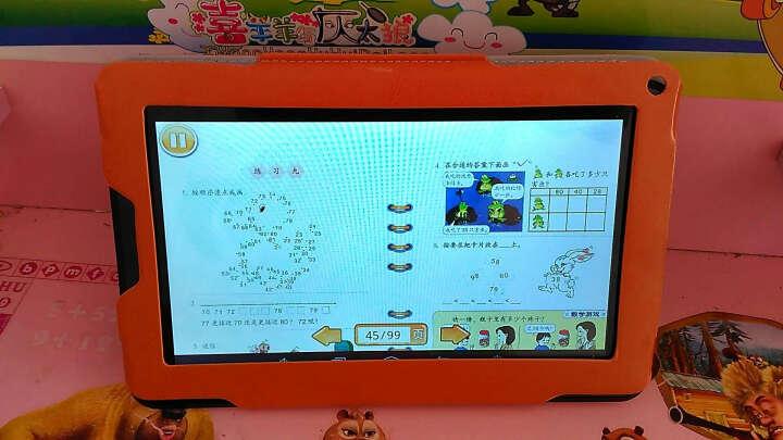 状元榜P9学习机9英寸高速四核高清显示屏 学习机平板电脑学生英语点读机电子词典8G 官方标配8G+16G卡 晒单图