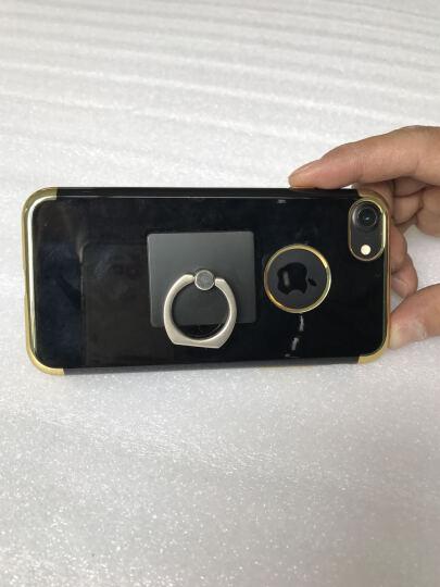 果好 【送钢化膜】 iPhone7手机壳/保护套 苹果7plus男女防摔全包硅胶超薄软壳 苹果7plus-5.5-电镀黑玫金-第二件半价 晒单图