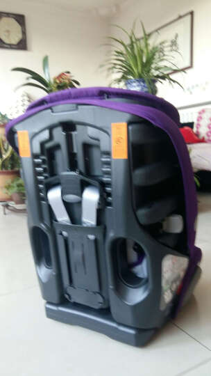 宝得适(Britax) britax宝得适超级百变王白金版9月12岁汽车儿童安全座椅 闪耀紫 晒单图