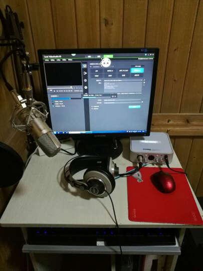 iCON CUBE 6nano电脑网络直播专业录音USB独立外置声卡电容麦克风话筒主播设备套装 Blue蓝鸟电容麦套装 晒单图