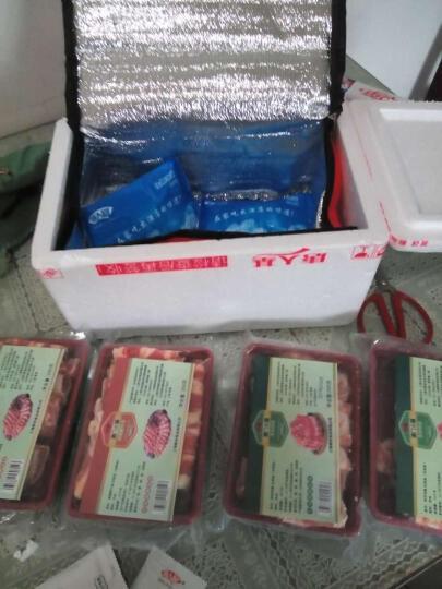 唐人基 雪花肥牛卷200g*2盒 羊肉卷200g*2盒 羊肉片牛肉片 火锅食材 晒单图