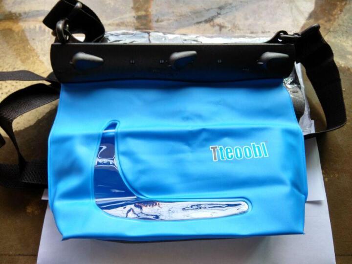 特比乐 游泳包防水包手机防水袋数码漂流袋户外登山沙滩滑雪收纳用品 619C蓝色 晒单图