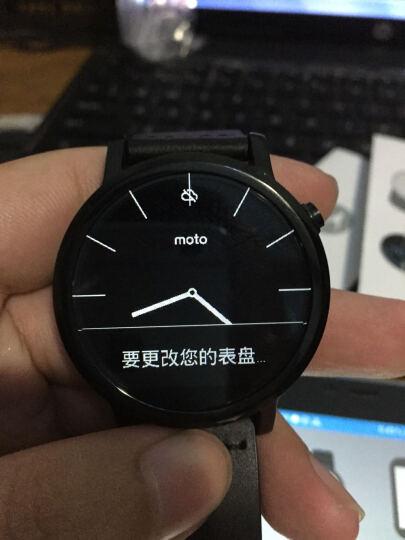 摩托罗拉 新一代 Moto 360智能手表 (42毫米高规格不锈钢 Horween真皮 黑色时尚经典男款)Moto 360二代 晒单图