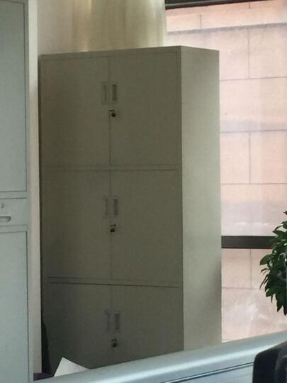 威林豪森 铁皮柜 钢制文件柜 凭证柜 资料柜 三节六门档案柜 财务档案柜 储物铁皮柜档案柜 文件柜/组 晒单图