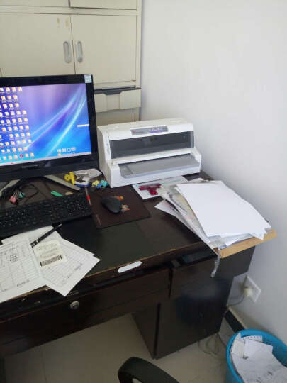 OKI ML 6100F+ 106列平推式打印机 A3打印 税票专用/快递单替代 760F 官方标配 晒单图