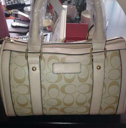 【品牌女包】特斯黛波士顿桶包 枕头包新款包包手提包单肩包斜挎包 杏色 晒单图