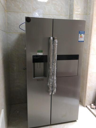 欧洲英国倍科(beko) GN162420 IX567升 对开门吧台饮水机冰箱 原装进口变频不锈钢色 晒单图