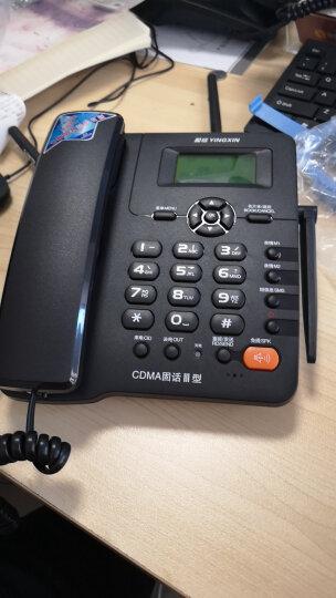 盈信(YINGXIN)盈信Ⅲ型电信版 无线固话插卡座机 固定插卡电话机 电信版手机SIM卡 低辐射(白色) 晒单图