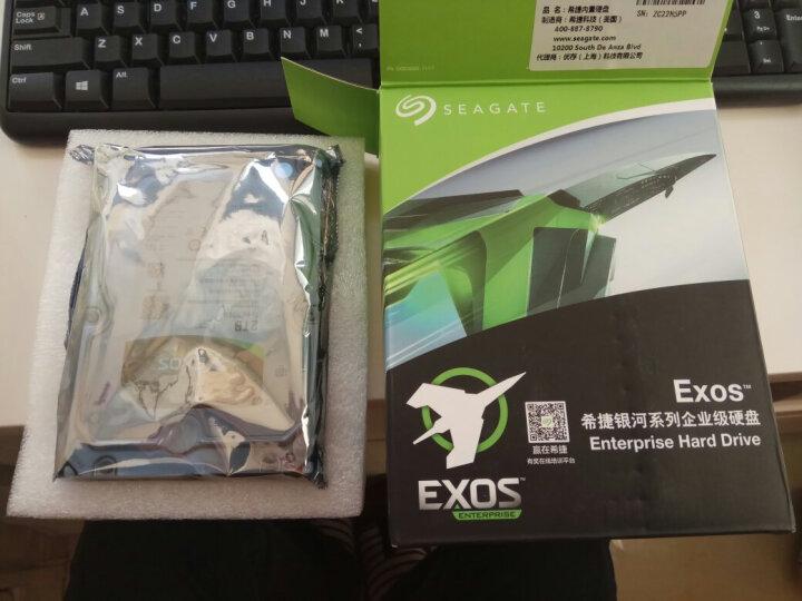 希捷(Seagate)2TB 128MB 7200RPM 企业级硬盘 SATA接口 希捷银河Exos 7E8系列(ST2000NM0055) 晒单图