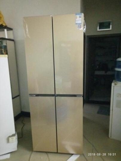 星星(XINGX) 十字对开门冰箱 四门电冰箱  家用立式多门 冷藏冷冻大冰箱 BCD-388EV 晒单图