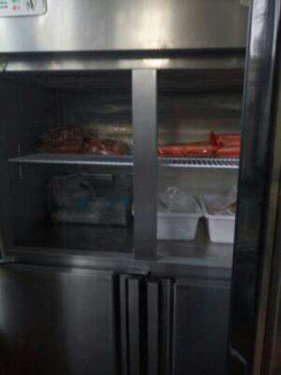 ?格盾(gedun) 双门四门商用冰柜 保鲜柜 冷冻柜 冷藏柜 可视立式冰箱 点击?选择(六门不锈钢门全冷冻) 晒单图