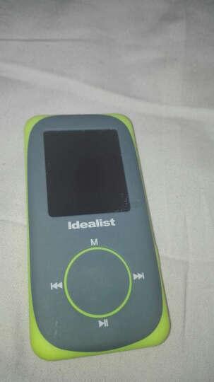 理想の星运动MP3 MP4播放器HIFI无损音乐播放器有屏 插卡迷你录音笔 炫彩红4G 晒单图