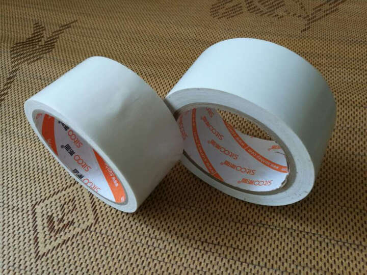 斯图 PVC警示胶带 地面划线胶 地线胶带 标识胶带 斑马线胶带贴地胶带 22米长3.6厘米宽红色 晒单图