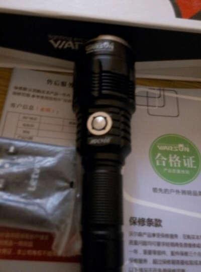 沃尔森(Warsun)强光手电筒多功能超亮氙气可充电1000特种W兵LED户外用 全新Z3黑金加强版+神奇支架(续航6-10小时) 晒单图