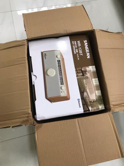 山进( SANGEAN)WR-11BT经典原木外观 台式二波段收音机蓝牙音箱 晒单图