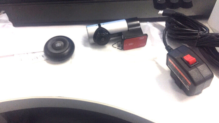 亮视线 隐藏式迷你行车记录仪高清夜视红外补光24小时停车监控记录仪360度全景防划车摄像头前后双录 G6灰色360°标配 16G专用卡 晒单图