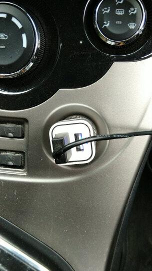飞毛腿(SCUD)SC-622 双USB/2.1A输出 车载充电器 苹果三星手机通用型汽车充 银色 晒单图