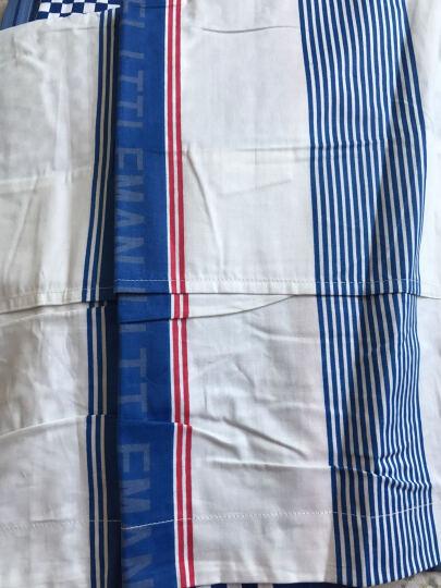 南极人(NanJiren)全棉斜纹简约纯色学生宿舍三件套被套床品套件 床上用品 水果沙拉 1.5米/1.8米床通用 晒单图