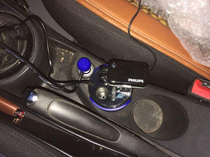 固特异车载充电器多功能手机车充 一拖二点烟器插头 双点烟器usb杯充 汽车充电器 晒单图