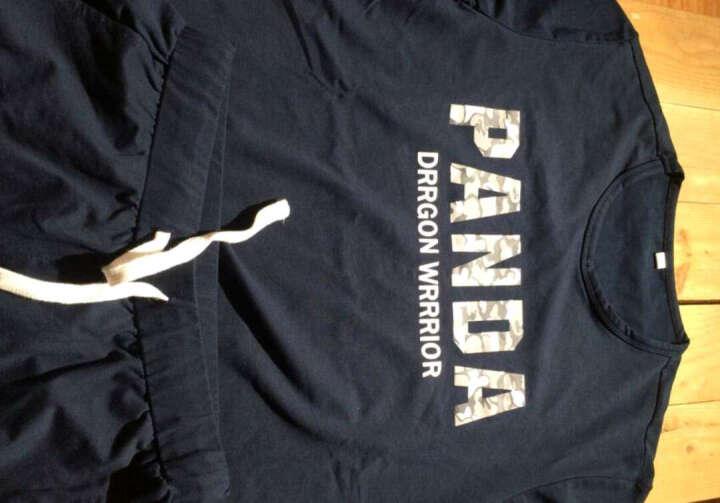 丛林客春夏季运动套装两件套男薄款宽松大码透气健身跑步网球运动服支持团购 白色(T恤+长裤) L 晒单图