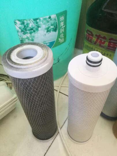 雅家瓷语 沁园净水器滤芯 UF1新滤芯CJ-2RO-185滤芯185DTRO185前三级 1235级PP棉颗粒碳棒后置 晒单图