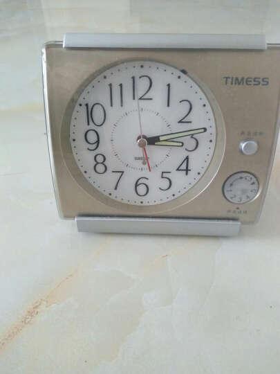 timess闹钟创意时尚儿童学生夜光钟表和旋闹铃时钟表图片