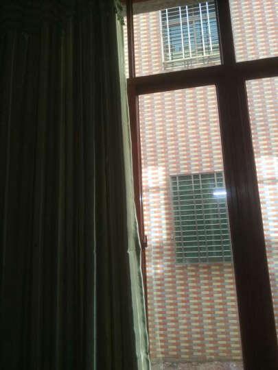福蝶 全遮光卧室窗帘加厚遮阳窗帘布简约现代客厅书房成品窗帘窗纱定制遮光窗帘 浪漫条纹 蓝色-打孔加工+横项帘头+珠子花边 布-定制每米价格(要几米拍几米) 晒单图