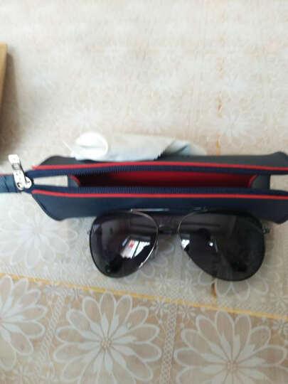 海俪恩(HORIEN) 太阳镜男款罗志祥同款墨镜男士彩膜偏光蛤蟆镜驾驶司机眼镜 N6259 6259灰色片 晒单图