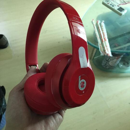 Beats Solo2 Wireless 头戴式耳机 - 红色  蓝牙无线 带麦 MHNJ2PA/A 晒单图