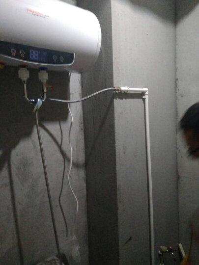 熊猫(PANDA) 储水式电热水器电家用速热洗澡机50升60升80升L【全国联保】包安装 乳白色 40升遥控触屏智能预约双防电.上门安装 晒单图