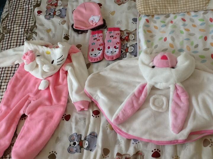 嘉乐宝杰斯卡 婴儿秋冬装 男女宝宝披肩 动物造型披风 加绒保暖儿童外套 斗篷 老虎造型 均码0-3岁 晒单图