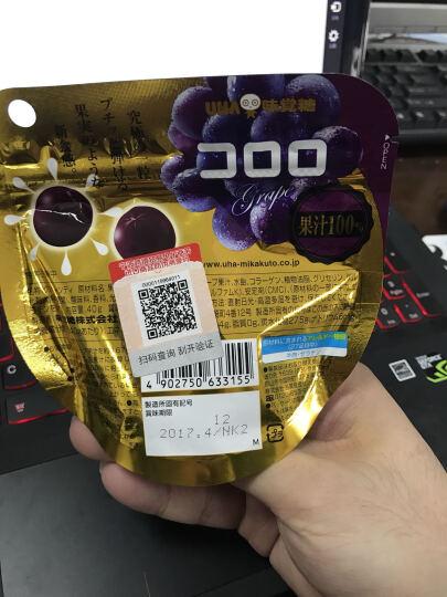 日本进口 悠哈UHA 青葡萄味味觉糖 40g 晒单图