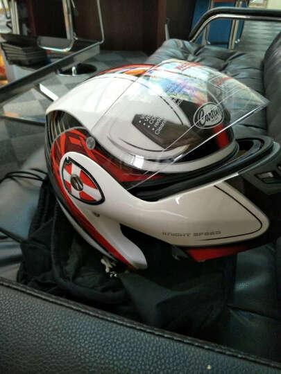 卡丁 电动摩托车头盔夏季男女士揭面盔 电动电瓶车安全帽保暖全盔936 白银凯尔特骑士 XL 晒单图