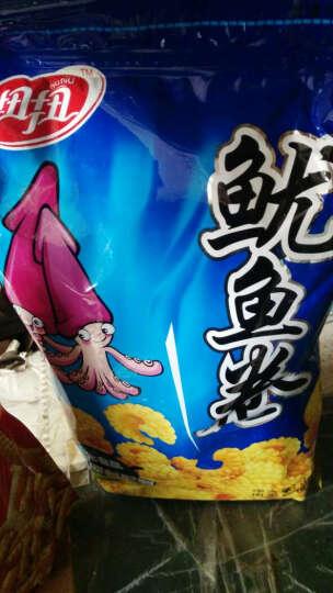 扭扭虾条鱿鱼卷虾味条鲜虾片油炸膨化食品休闲零食大礼包批发620g 混装口味各一包 晒单图